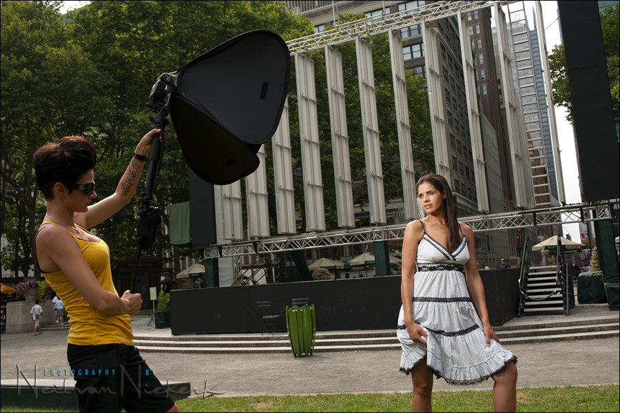 off-camera flash photography: distance between softbox and subject ...: neilvn.com/tangents/off-camera-flash-photography-distance-between...