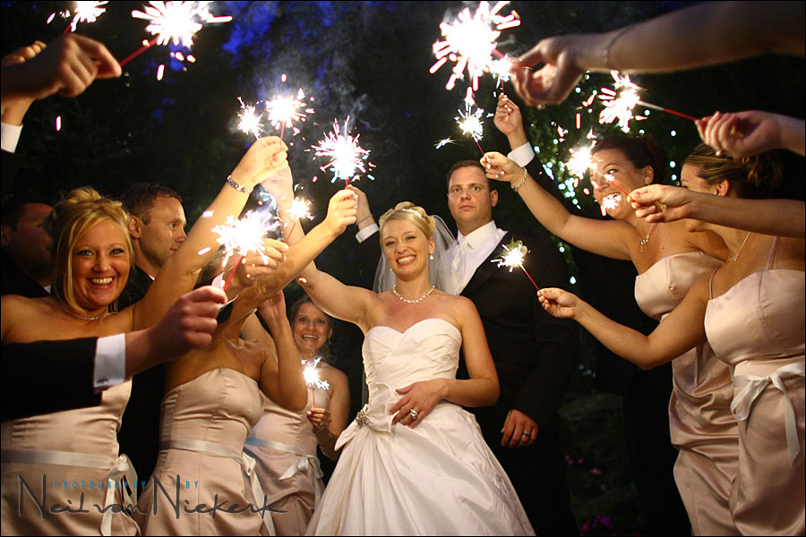photographing sparklers