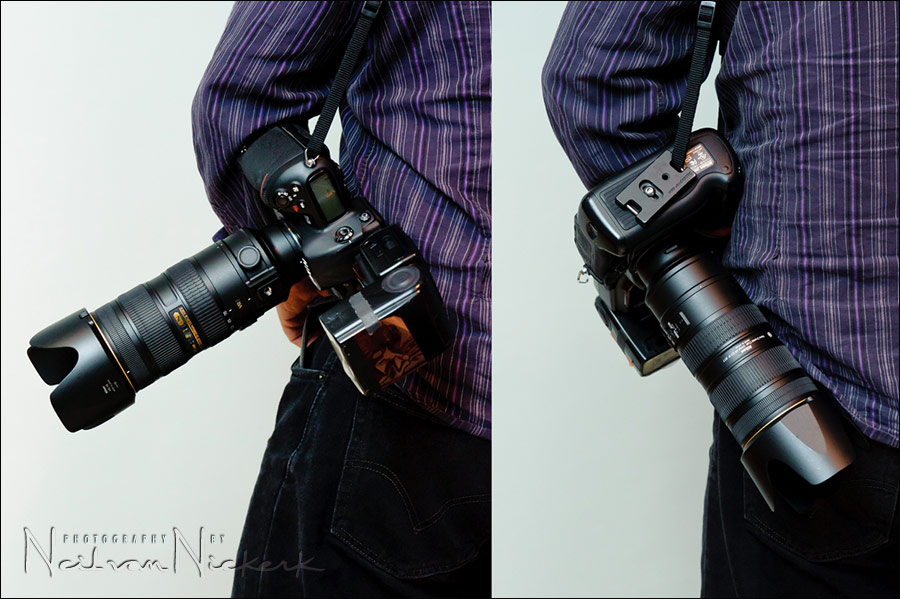 how to carry your camera over your shoulder