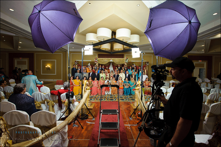 wedding photography: how do you light large groups? … evenly!