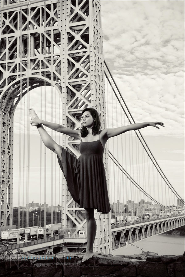 photo session: urban ballerina – Oktavia