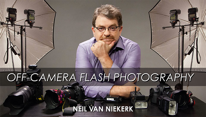 Online video class: Off-camera flash photography