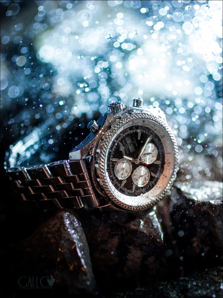 Innovative product photography on a budget – Diver's Chronograph