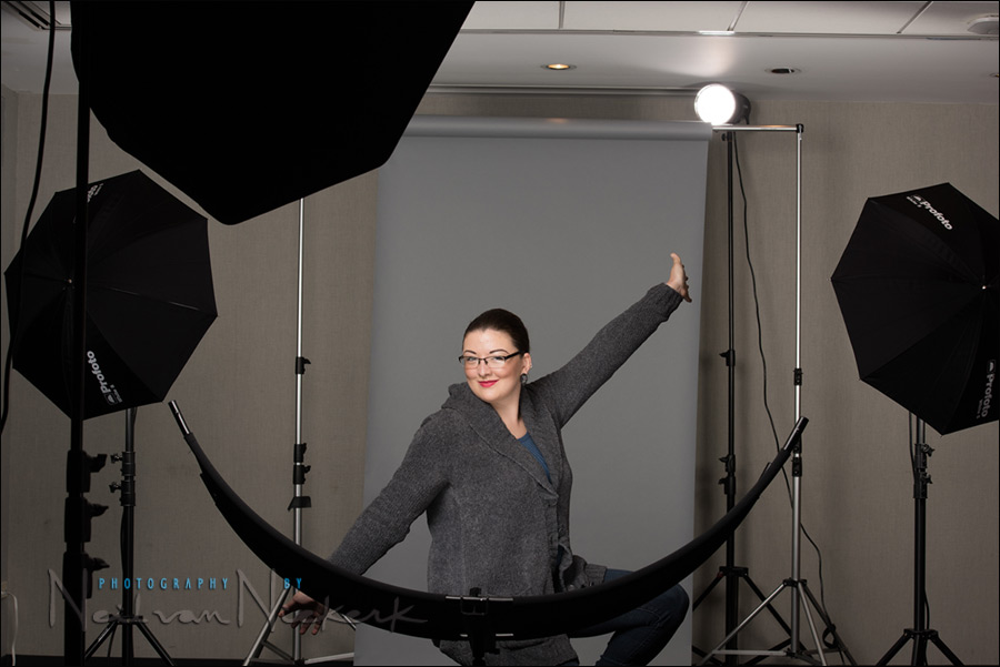 Photo gear & logistics: Corporate headshots