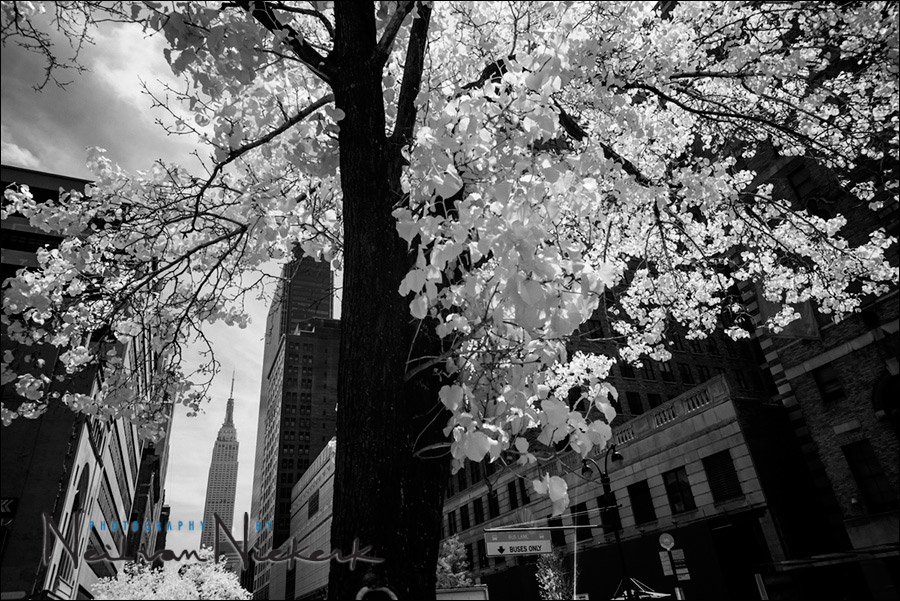 NYC cityscapes – Infra-red black & white photography