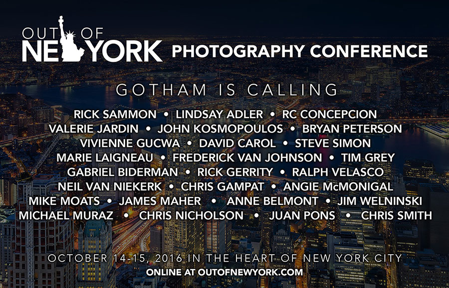 Photography conference: Out of New York