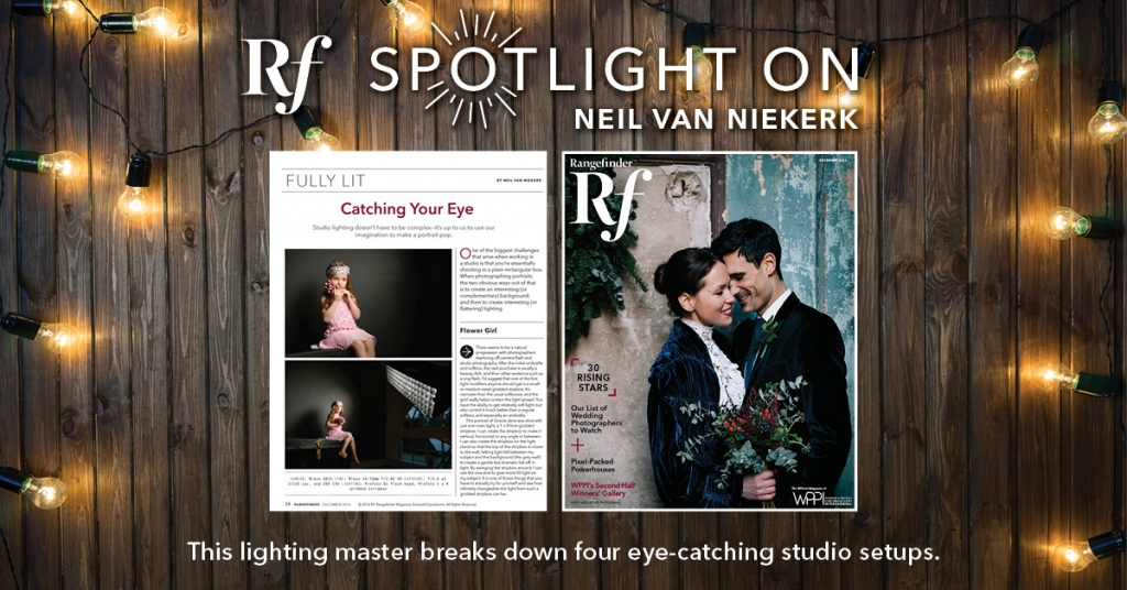Featured in Rangefinder magazine