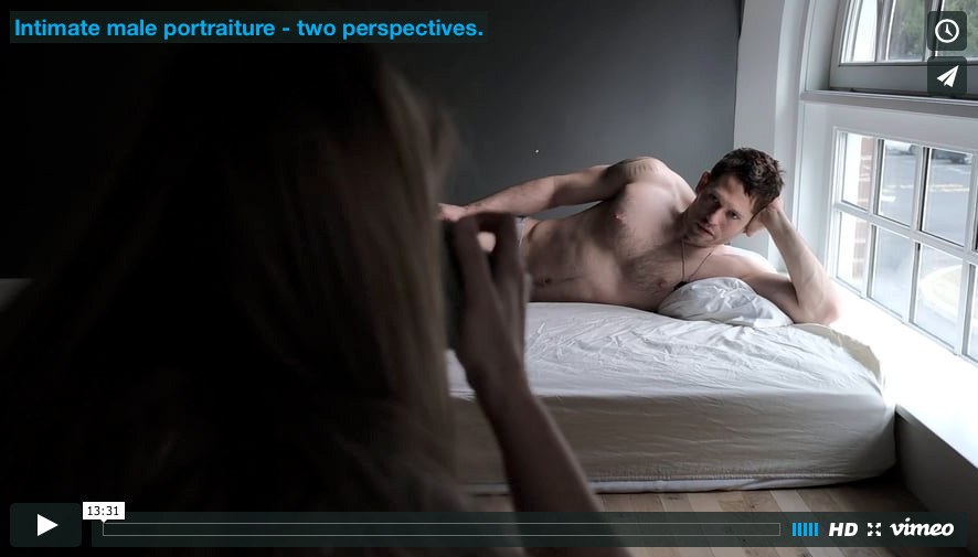 video: Intimate male portraiture – two perspectives