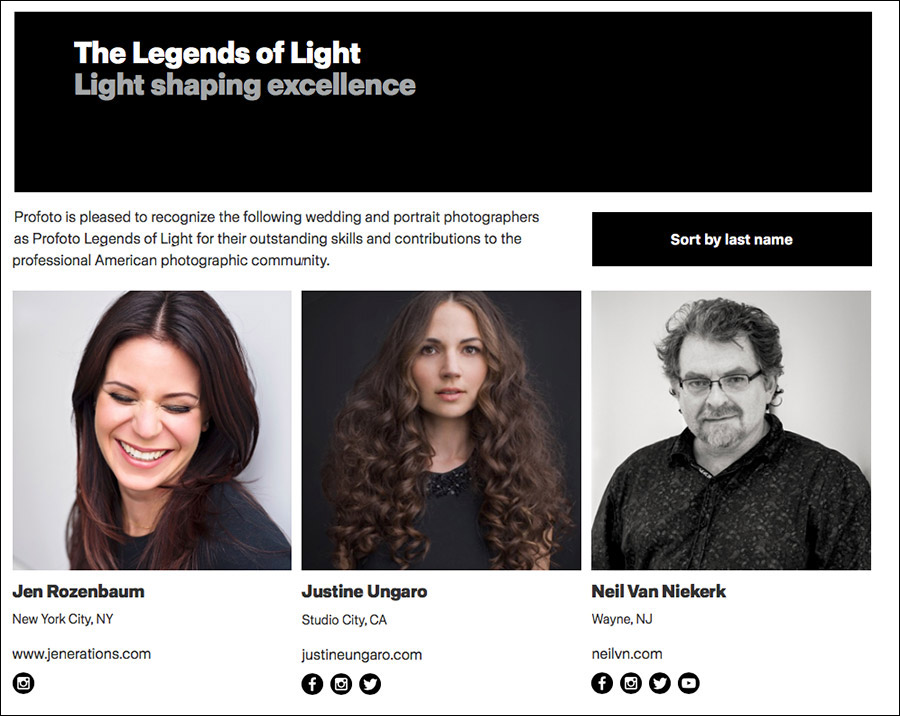 Profoto: The Legends Of Light