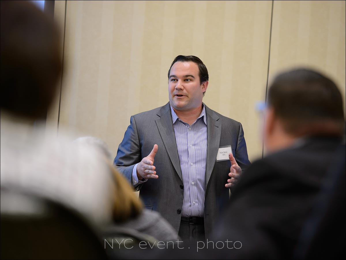 NYC event photographer corporate seminar