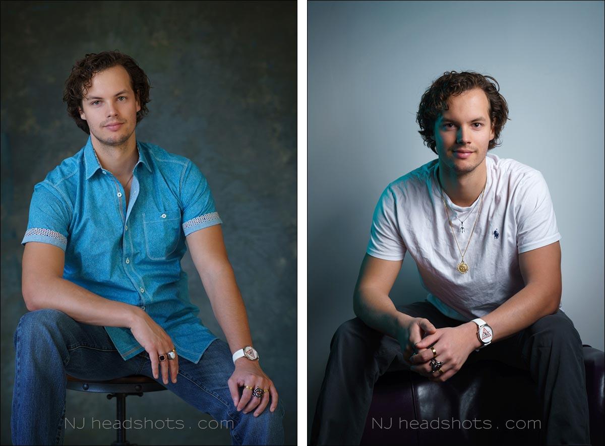 NJ headshots studio portraits New Jersey