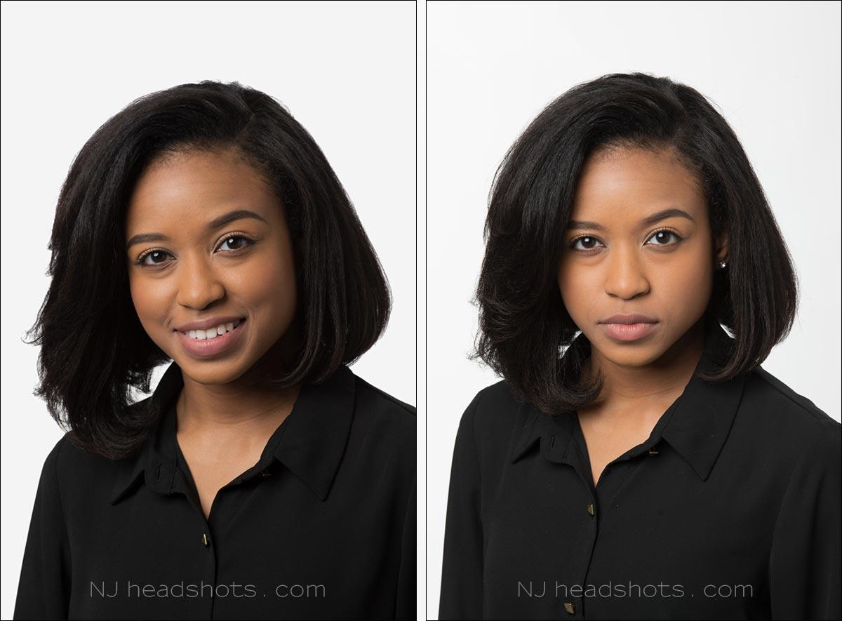 New Jersey studio headshots NJ photographer