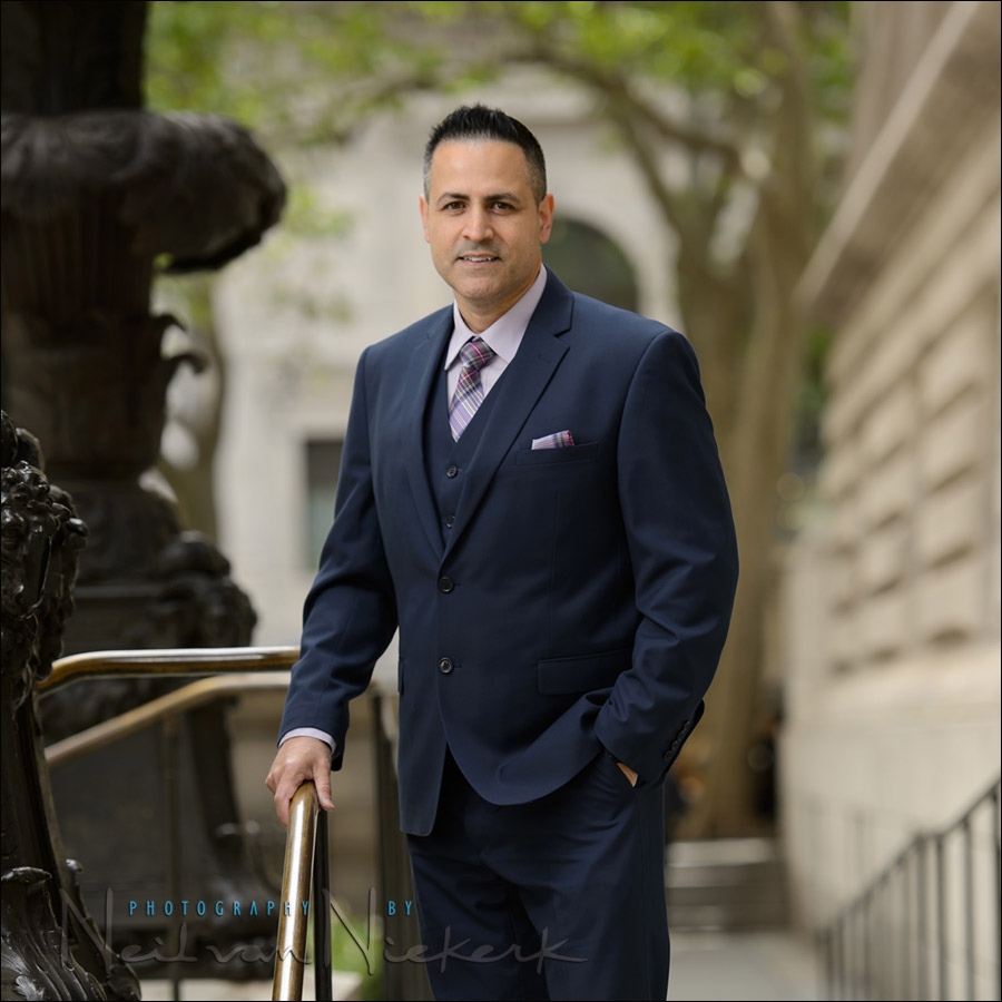 NYC executive portrait photographer New York