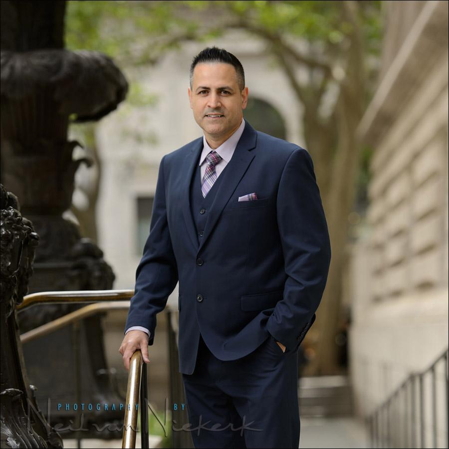NYC executive portrait photographer New York