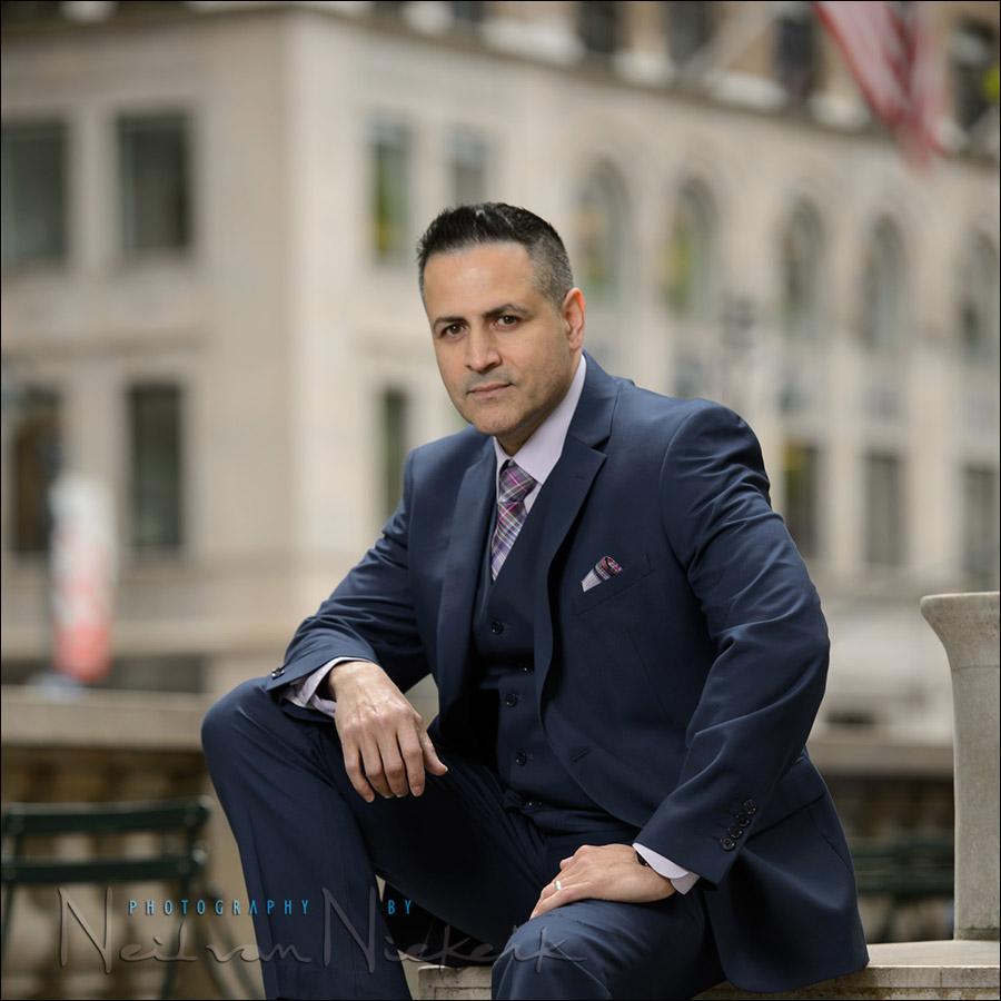 New York business portrait photographer NYC