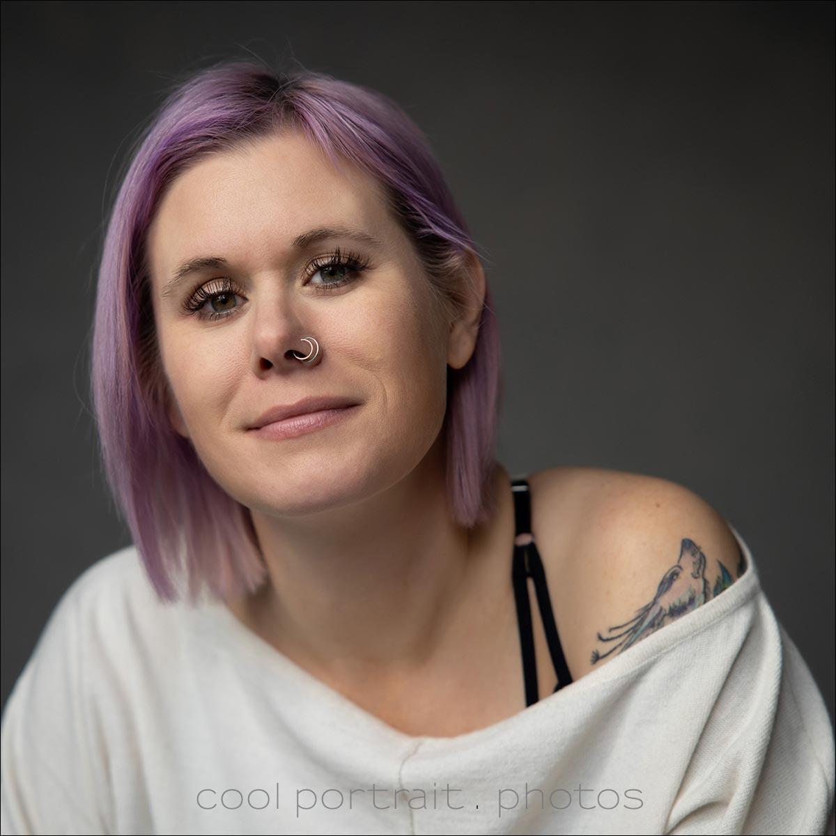 feminine portrait photographer NJ