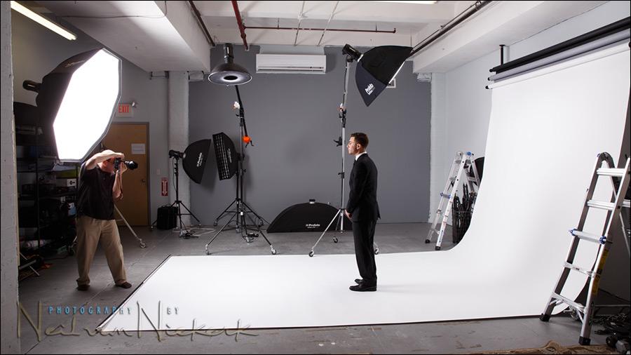 NJ photo studio rental white backdrop