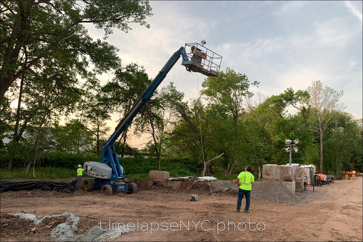 outdoor timelapse construction NJ
