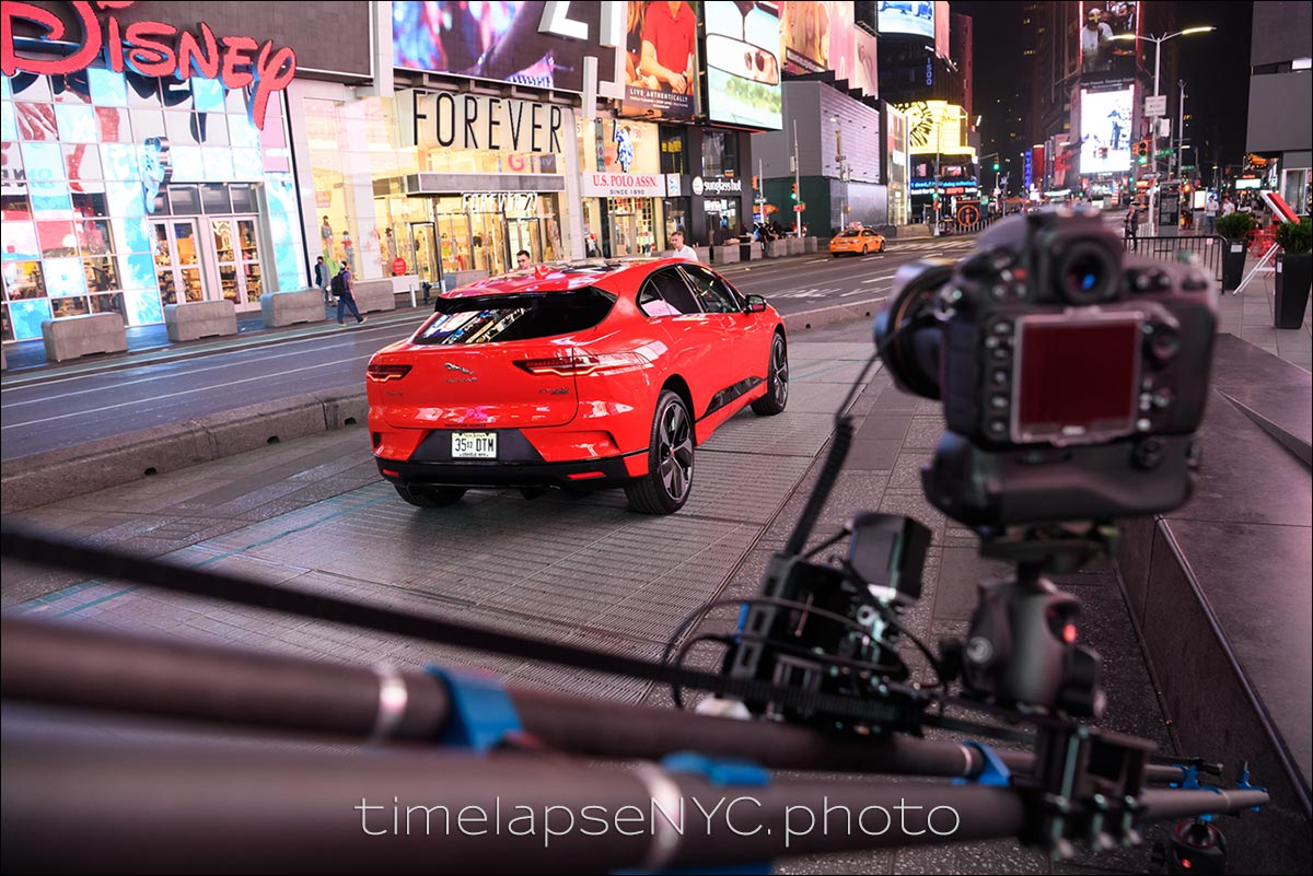 New York time-lapse photography hrs automotive Times Square