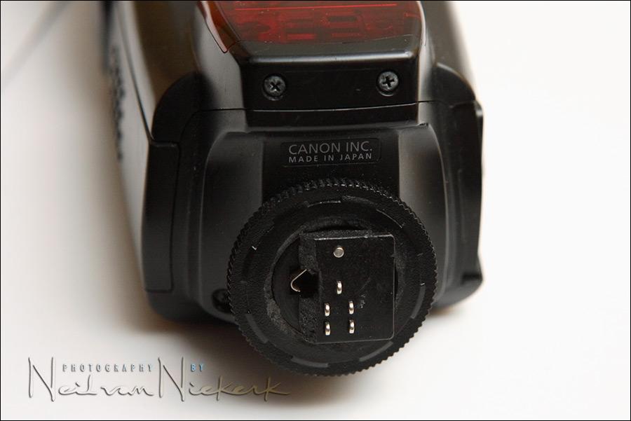 Repairing The Canon 580EX Hotshoe Foot