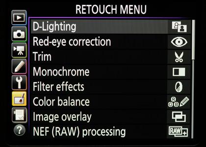 Nikon D750 - camera settings & custom settings