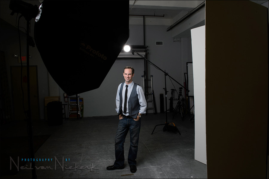 Headshot Photography In The Studio Tangents