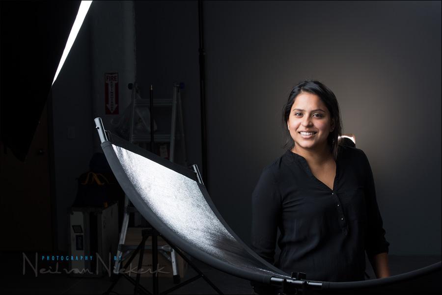 Headshot Photography Studio Lighting Westcott