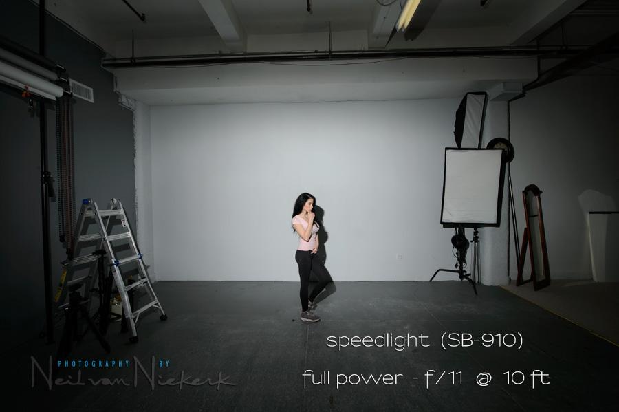 Direct flash & Comparing power: Studio lights vs. speedlites / speed lights azcodes.com