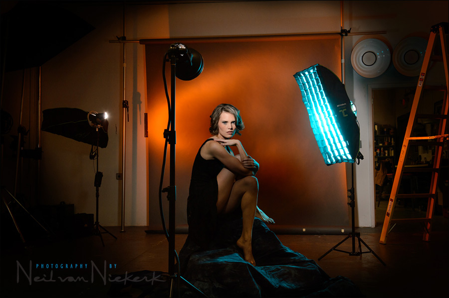 Colored gels with flash photography - Tangents