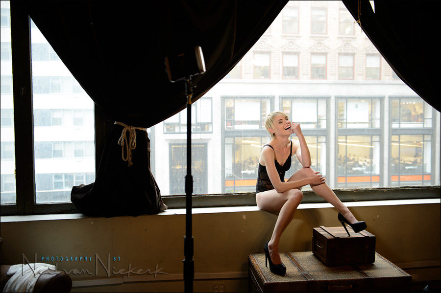 lighting for boudoir photography