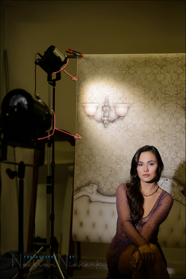 Lighting A Vintage Styled Boudoir Photo Session Tangents