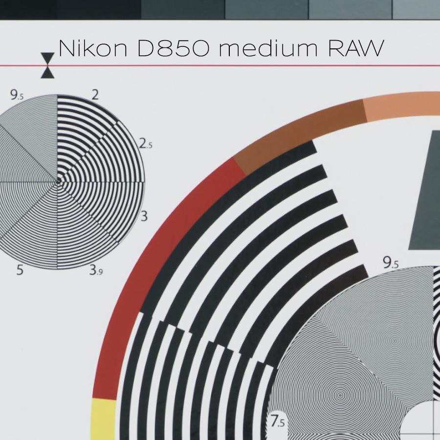 Nikon D850 medium RAW files soft? - Tangents