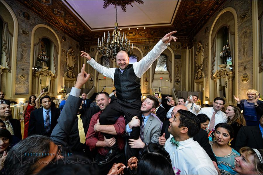 Wedding Reception Lighting With One Flash