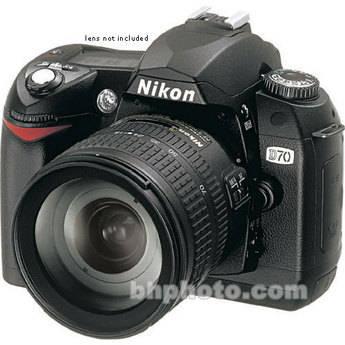 Nikon D70 custom settings