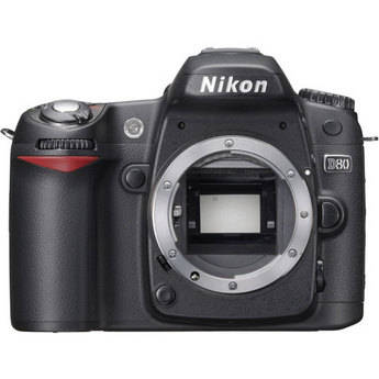Nikon D80 custom settings