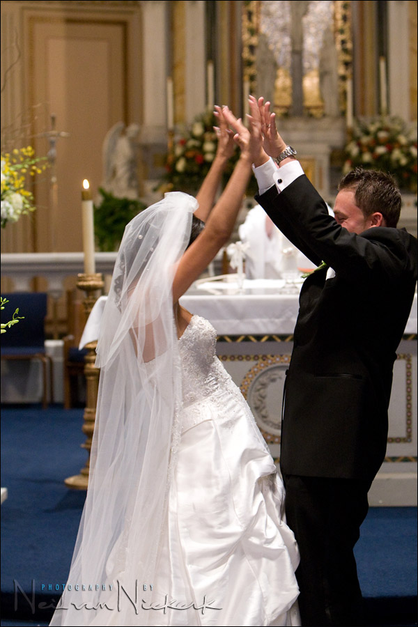 wedding photography: working with higher ISO settings