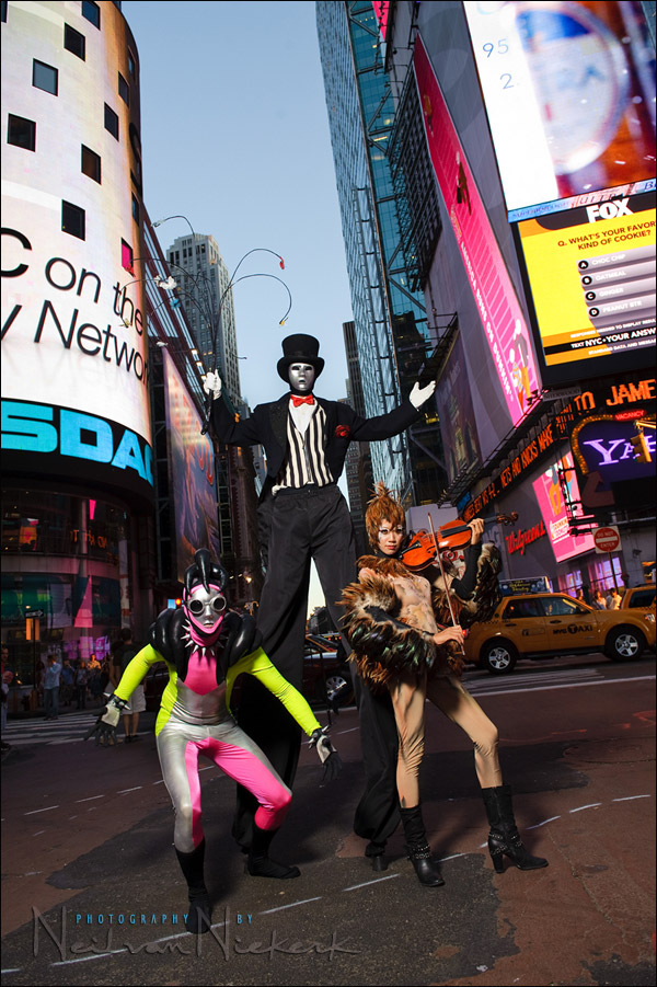 photo session – Modern Gypsies – Times Square, NYC