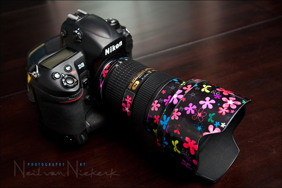 Lens Skins – pretty up your photo gear