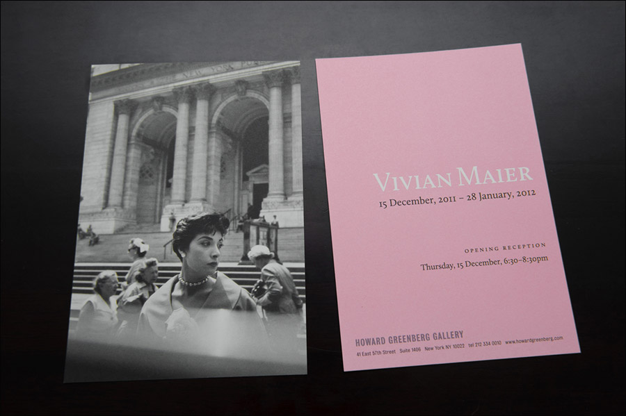 Vivian Maier exhibition in New York