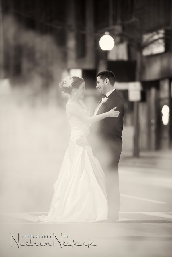 Romantic wedding portraits – Working with an idea