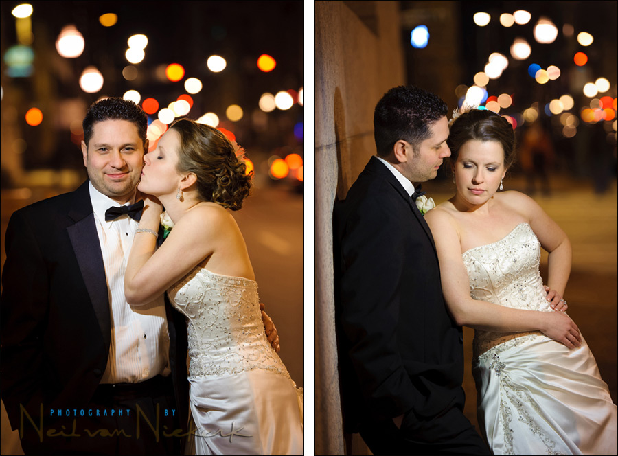 Using video lights for outdoor night-time portrait photography
