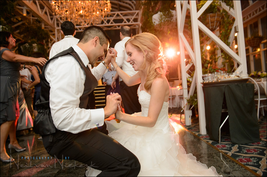 Wedding photography: Using high ISO and flash at the reception