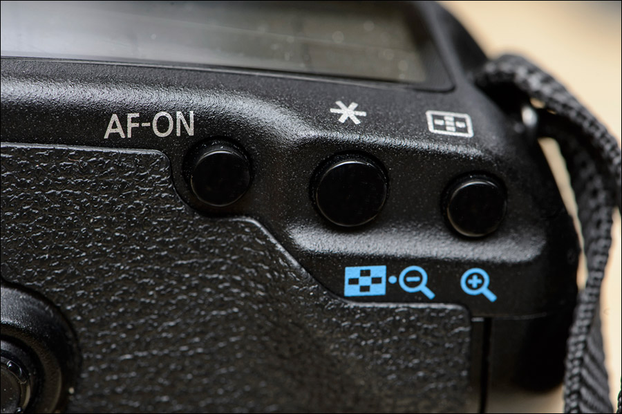 Using back-button focus (BBF) on your Canon camera