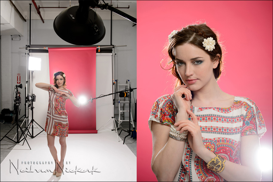 Video clip: Studio Photo session