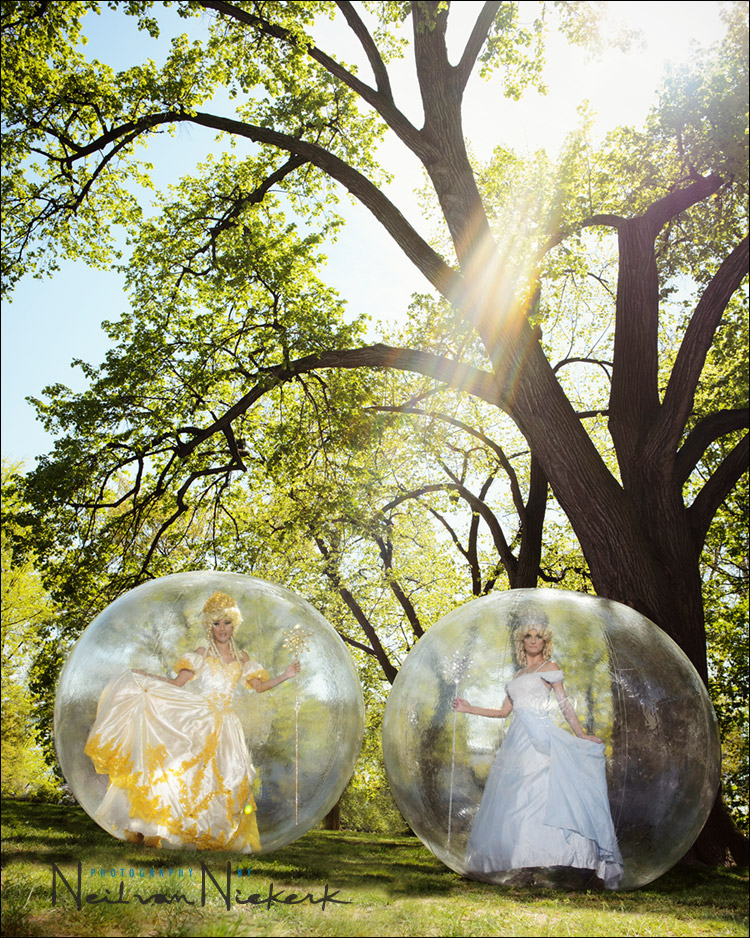 Photo session – Modern Gypsies – floating bubbles