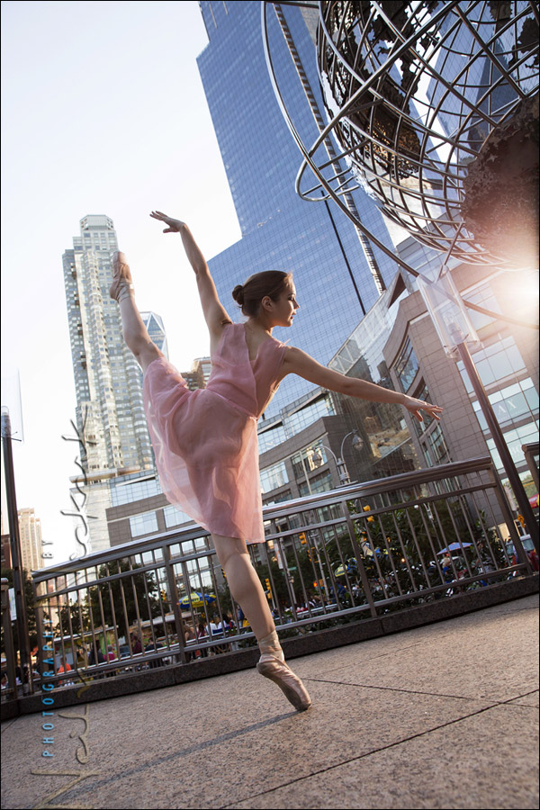 Photo session: Urban ballerina – Viktoria