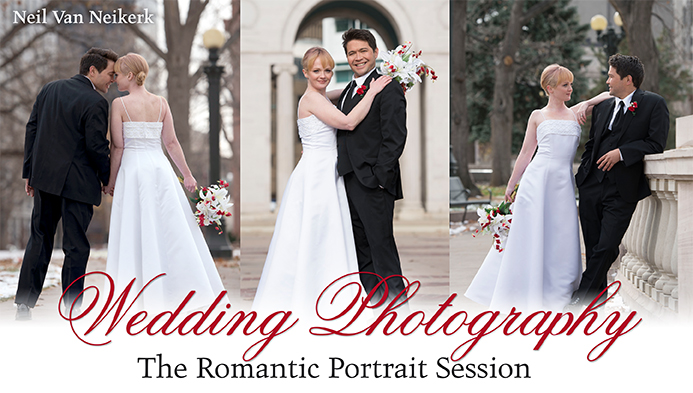 Video tutorials: Wedding photography – The romantic portrait session