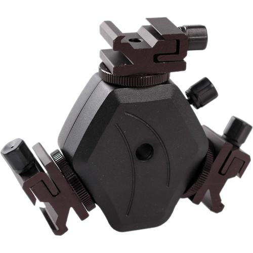 Multiple speedlight / flashgun mounting bracket
