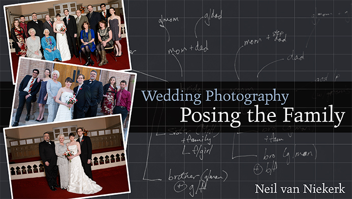 Video tutorial: Wedding photography – Posing family groups