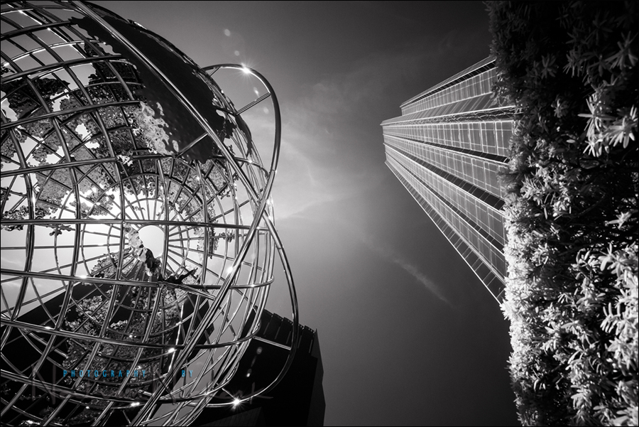 B&W infrared photography – Urban landscapes